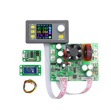 RUIDENG DPS5015 Communication Constant Voltage Current Step-down Digital Power Supply Module Buck Voltage Converter LCD Voltmeter 50V 15A