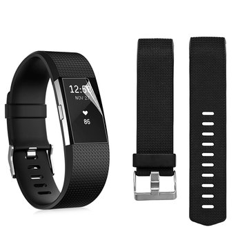 Replacement Silica Gel Watch Strap Watch Band For FITBIT CHARGE2
