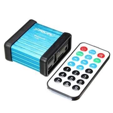SANWU® Wireless Bluetooth Audio Receiver Decoding Box Preamp Amplifier With Power Isolation Process And Remote Control