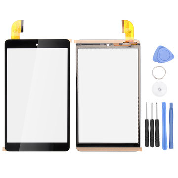 Touch Screen Digitizer (No LCD) Glass For Argos Alba 8 Inch Android Tablet AC80CPLV2