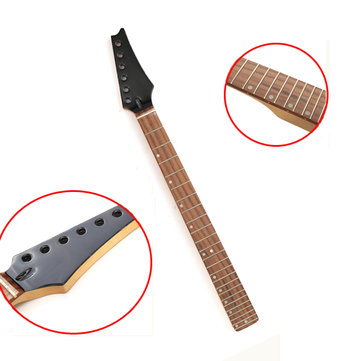 Electric Guitar 24 Fret Neck Maple Wood Fretboard Guitar Replacement