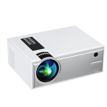 Cheerlux C8 LCD Projector Support 1080P 1800 Lumens 1280 x 800 Pixels Home Theater Projector