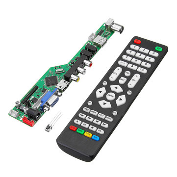 T.RD8503.03 Universal LCD LED TV Controller Driver Board TV/PC/VGA/HDMI/USB With Remote