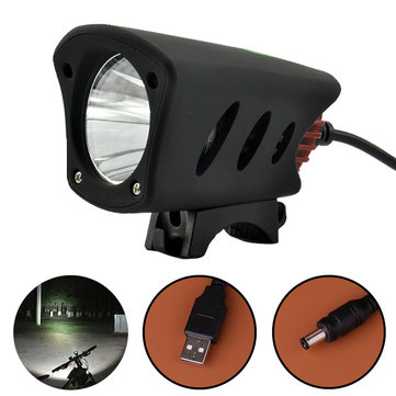 XANES XL02 800LM Dual Interface T6 LED IPX65 Waterproof Bike Light HeadLamp Cycling Light