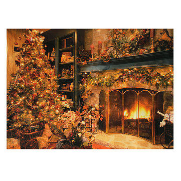 Buy 7x5ft Vinyl Christmas Tree Photography Background Photo Props Studio Backdrop for $6.28 in Banggood store
