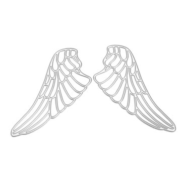 Angel Wind Scrapbooking DIY Photo Album Card Paper Craft Maker Metal Cutting Die