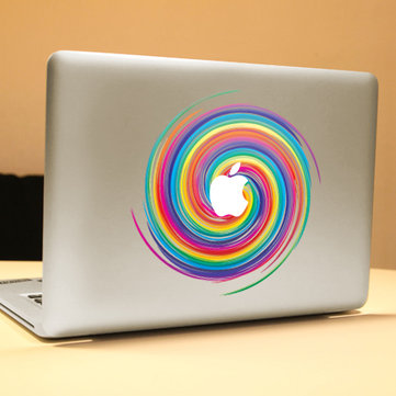 PAG Skittles Decorative Laptop Decal Removable Bubble Free Self-adhesive Partial Color Skin Sticker