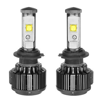 2PCS AKAS V16 60W 6000LM LED Car Headlights Bulbs H1 H3 H4 H7 H11/H8/H9 9005 9006 6000K White