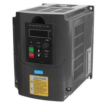 0.75KW 110V Variable Frequency Inverter Built-in PLC Speed Control Single In Three Phase Out