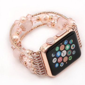 Crystal Bracelet Watch Band Strap for Apple Watch iWatch Series 3 2 1 (Without connector)
