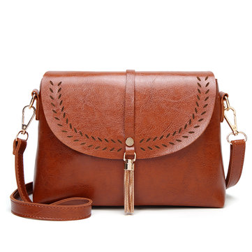 Summer Retro Style Tassel Shoulder Bag Crossbody Bag