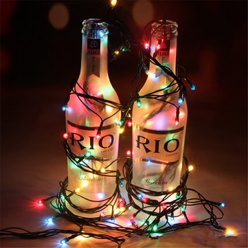 Christmas Colorful LED Millet Lights Christmas Tree Decoration Lights Party Pecor Flash String Light