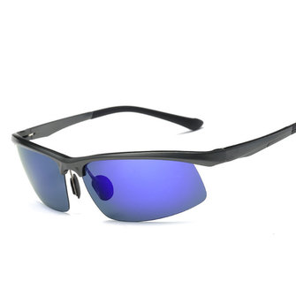 MenS-classic Aluminum Magnesium Anti-UV Polarized Sun Glassess UV400 Anti Glare Driving Eyewear