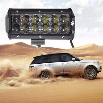 60W 12 Leds Light Bar Floodlight/Spot Lightt Work Light ATV Off Road Driving Lamp DC10-30V