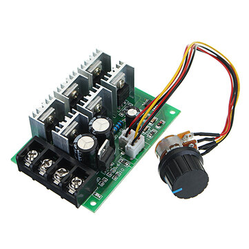 DC 9-55V 40A 2000W PWM DC Motor Pump Speed Regulator High Power Speed Controller 9V 12V 24V 36V 48V 55V Non Pole Electronic Variable Speed Mode