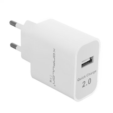 Konfulon C27 QC2.0 USB Charger EU Adpater For iphone7/7Plus Samsung S8 Xiaomi mi5 mi6 Redmi Note4