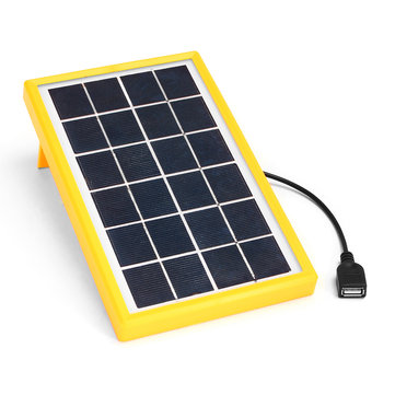 3W 5V Portable Polycrystalline Solar Panel Powerde Charging Module Outdoor Travel Charging