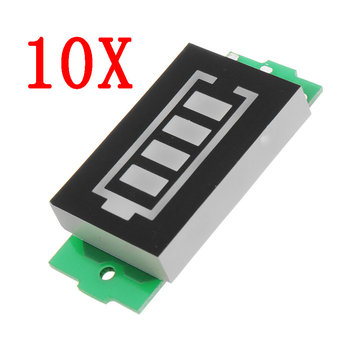 10pcs 1S Lithium Battery Pack Power Indicator Board Electric Vehicle Battery Power Indicator 4V Power Storage