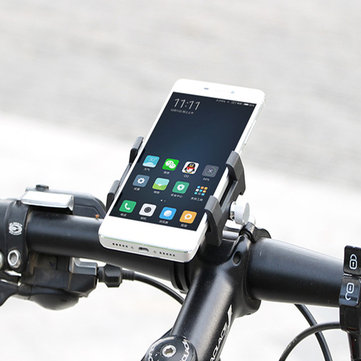 Universal Fixed Clip Bicycle Motorcycle Handlebar Holder Phone Stand for iPhone Xiaomi Mobile Phone