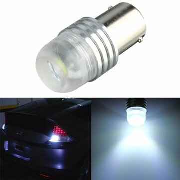 Buy White 3W DC 12V 1156 BA15S P21W LED Car Bulb Reverse Light for $1.85 in Banggood store