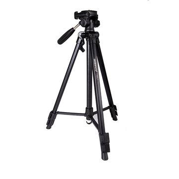 CamboFoto SAB233 Portable Mini Folding Ultra Aluminum Alloy Compact Tripod Kit for Canon Nikon DSLR Digital Camera Camcorder