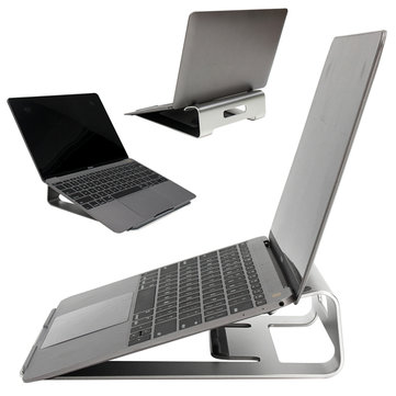 Aluminum Laptop Holder Stand Dock Desk Pad For MacBook Pro Air Tablet Notebook