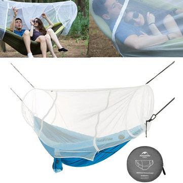 Naturehike NH18D003-C 1-2 People Mosquito Bug Net Tunnel Shape For Hammock Swing Bed Outdoor Camping