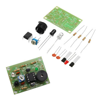 DIY Sound Light Infrared Sensor Anti-theft Alarm Switch Kit