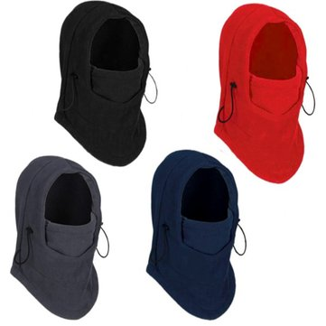 Thermal Fleece Balaclava Hat Hood Ski Bicycle Motorcycle Racing Face Mask Neck Helmet Cap