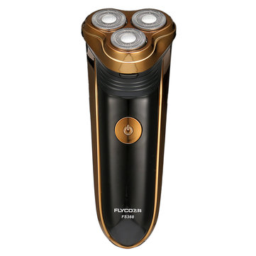 Flyco® FS360 Professional Double Ring Floating Electric Shaver With Pop-up Trimmer