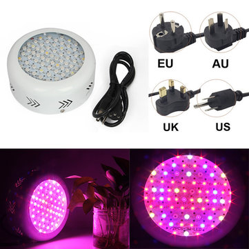 70W UFO Full Spectrum 72 LED Plant Grow Light Gardening Greenhouse Flower Seedling Lamp
