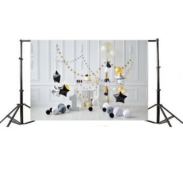 7x5ft Birthday Backgrounds Thin Vinyl Photography Backdrop Background Studio Photo Prop