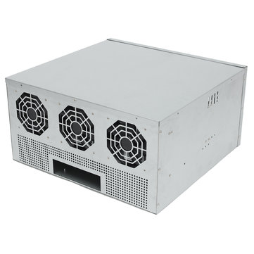 1250W 8 GPU Plus Mining Machine Power Supply For Bitcoin ETH Antminer 6 Fans