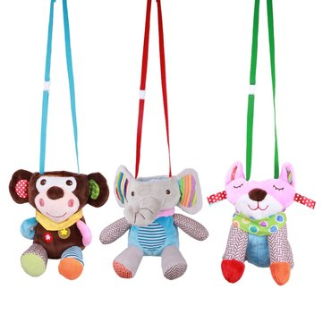 Cartoon Animals Baby Milk Bottle Bag Case Plush Insulation Bag For Newborn Baby Keep Warm Infant Feeding Bottle Bag Portable
