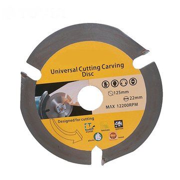 Drillpro 125mm 3T Circular Saw Blade Multitool Grinder Saw Disc Carbide Tipped Wood Cutting Disc
