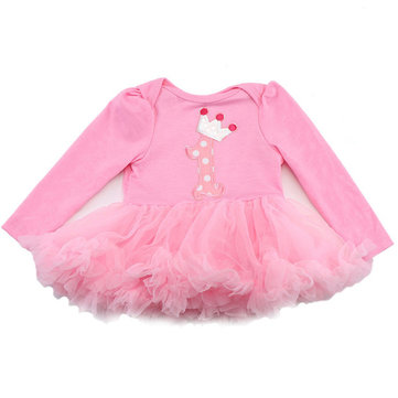 Pink Cotton Reborn Baby Doll Clothes Dress Sets Two-Piece Suit Headdress for Girl Dolls
