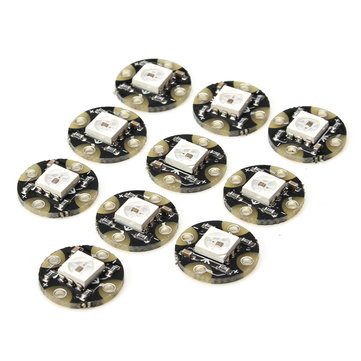 10Pcs CJMCU WS2812 RGB LED Breakout Full Color Lights Driving Intelligent Control Module