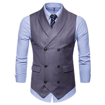 Fashion Business Gentleman Waistcoat Suit Vest for Men