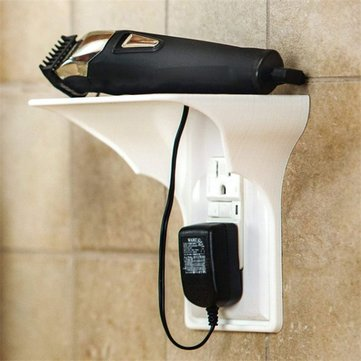 Innovative Switch Plug Stacks Outlet Shelf Simple Wall Stack Mobile Charging Shelf Holder Easy Installation