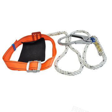 200kg Max Load Aerial Work Rope Climbing Belt Outdoor Mountaineering Belts Security Protection Accessories