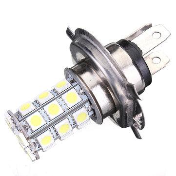 Xenon H4 9003 5050 27-SMD LED Bulb Fog DRL High Beam Headlight