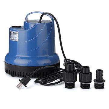 220V 15W-80W Submersible Water Pump For Aquarium Clean the Fecal