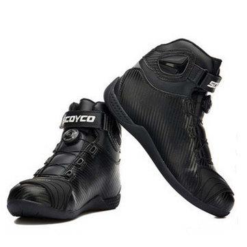 SCOYCO Knight Cross Country Riding Shoes Motorcycle Racing Boots NBT010