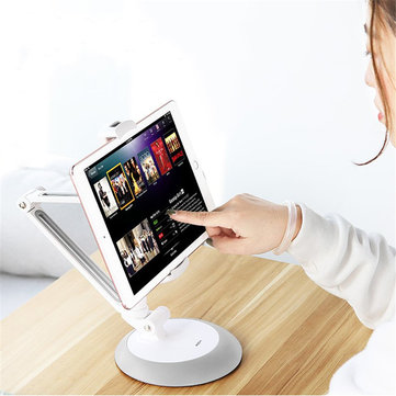 Rock Powerful Suction Cup Adjustable Arm 360 Degree Rotation Desktop Holder for Mobile Phone Tablet