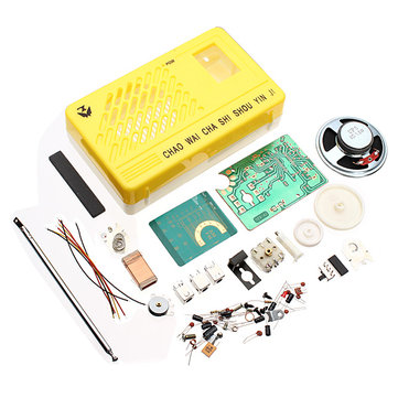 3Pcs AM FM Radio Electronics Kit Electronic DIY Learning Kit
