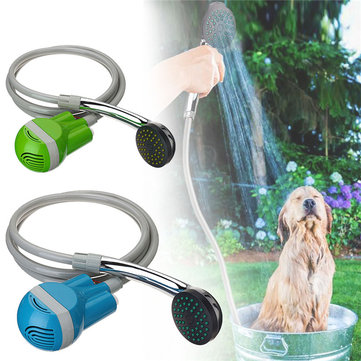 IPRee® Portable USB Shower Water Pump Rechargeable Nozzle Handheld Camp Travel Outdoor Kit