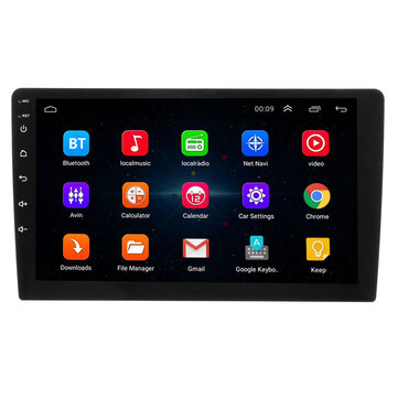 9 Inch Android 8 Quad Core Touch 2 DIN Car Stereo Radio bluetooth WIFI GPS Nav Video MP5 Player