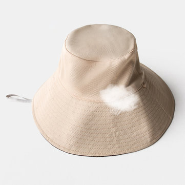 Men Women Large Brimmed Fishing Bucket Hat Gardener Cap