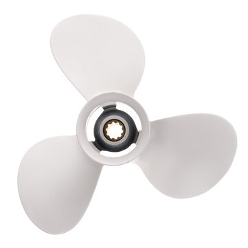 9 7/8x11 1/4 Aluminum Boat Outboard Propeller For Yamaha 20-30HP 664-45947-01-EL