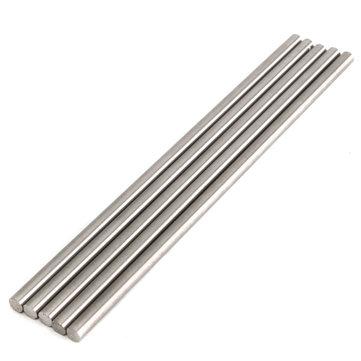 5pcs 8mm Titanium Ti Grade GR5 Titanium Alloy Rod Bar Length 250mm
